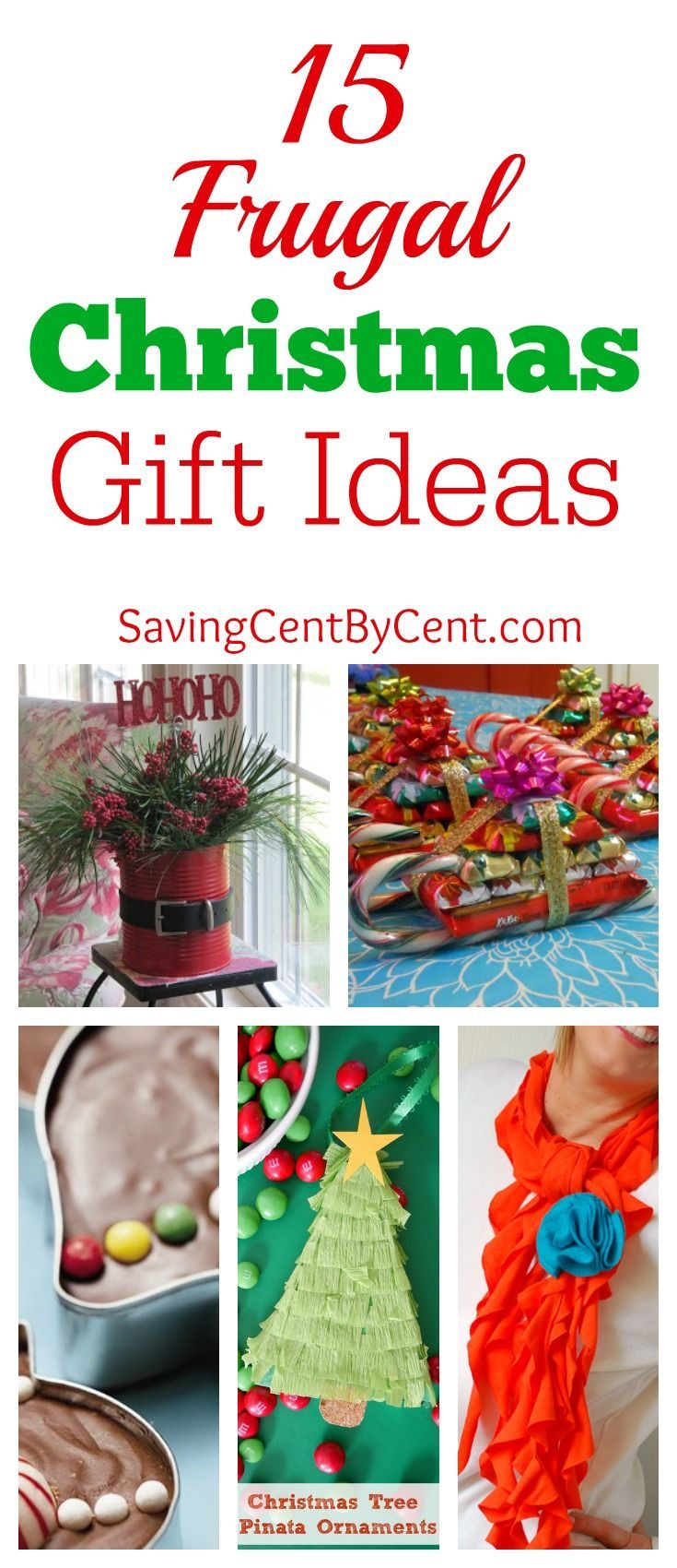 15 Frugal Christmas Gift Ideas | Pinterest | Frugal christmas ...