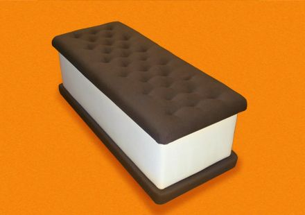 Ice Cream Bench - by Jellio, i just discovered them-love their quirky throwback to childhood style!