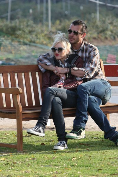 Gwen Stefani and Gavin Rossdale spend New Years Eve with the kids
