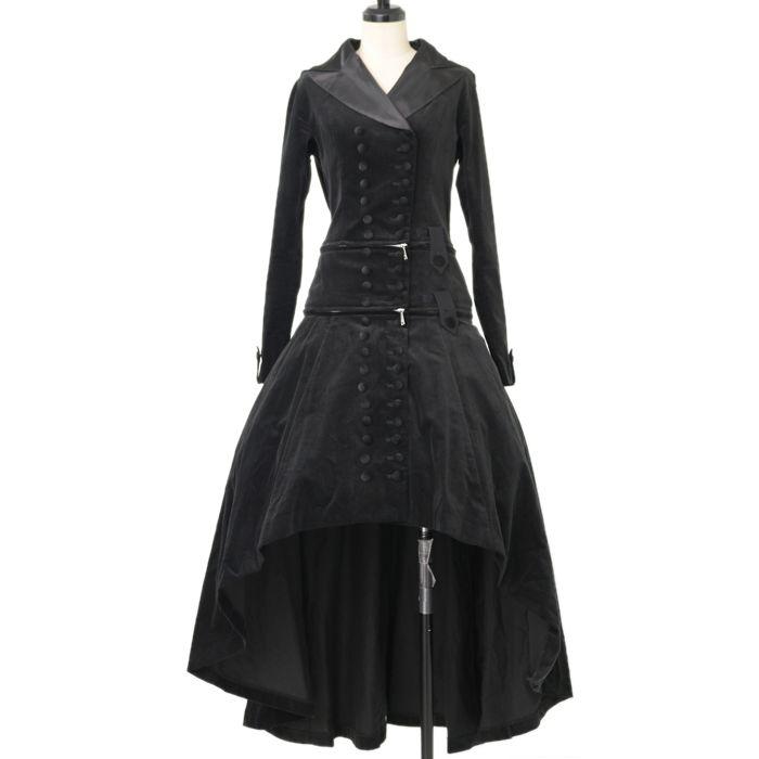 ♡ alice auaa ♡ Velveteen hooded long coat  http://www.wunderwelt.jp/products/detail12064.html ☆ · .. · ° ☆ How to order ☆ · .. · ° ☆ http://www.wunderwelt.jp/user_data/shoppingguide-eng ☆ · .. · ☆ Japanese Vintage Lolita clothing shop Wunderwelt ☆ · .. · ☆