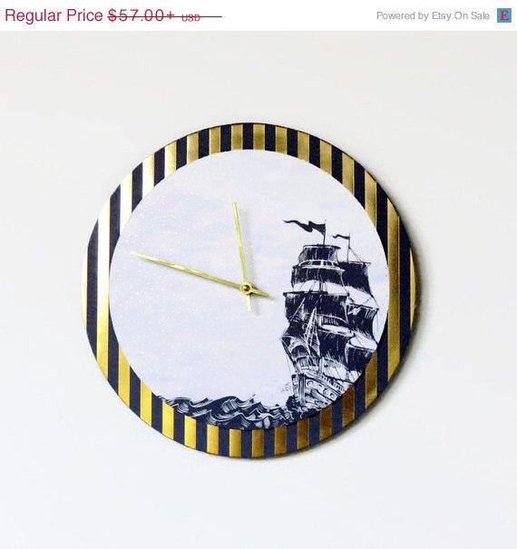 17 Best Ideas About Nautical Wall Clocks On Pinterest