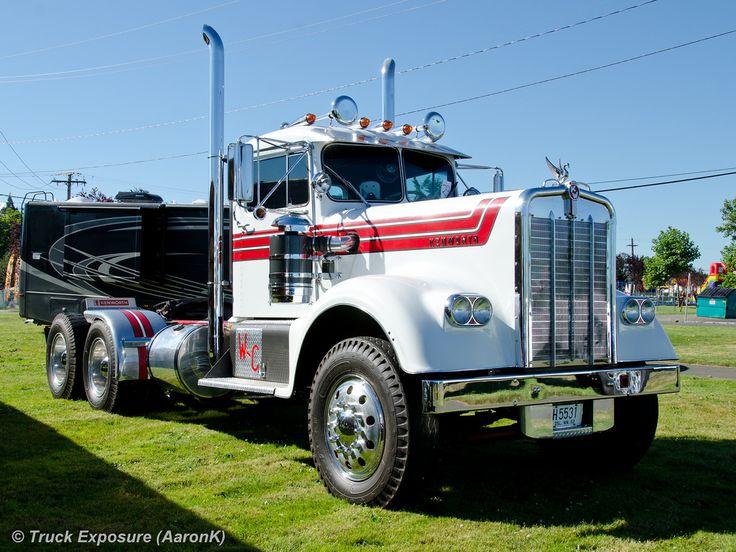 Semi Truck Hoods : Best images about big trucks kenworth hoods on