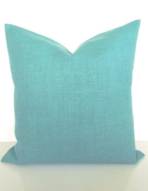 Turquoise Pillows Teal Decorative Pillow Covers Gray Pillows Etsy Turquoise Pillows Green Pillow Covers Teal Pillows Decorative