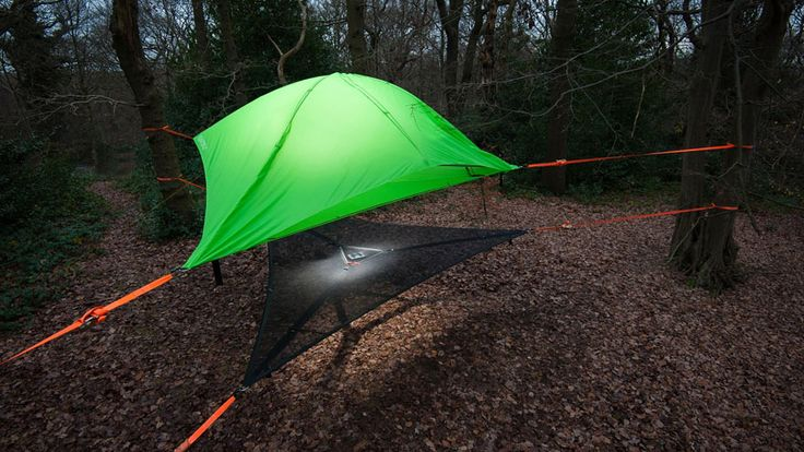 Des tentes suspendues dans les arbres  2Tout2Rien