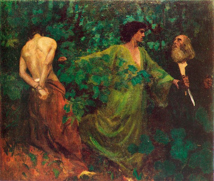 Karoly Ferenczy, The Aqedah