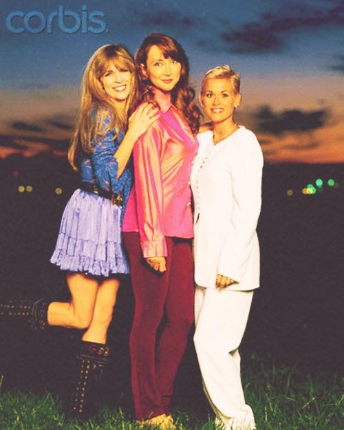 Pam Tillis, Lorrie Morgan and Carlene Carter