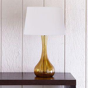amber lamp