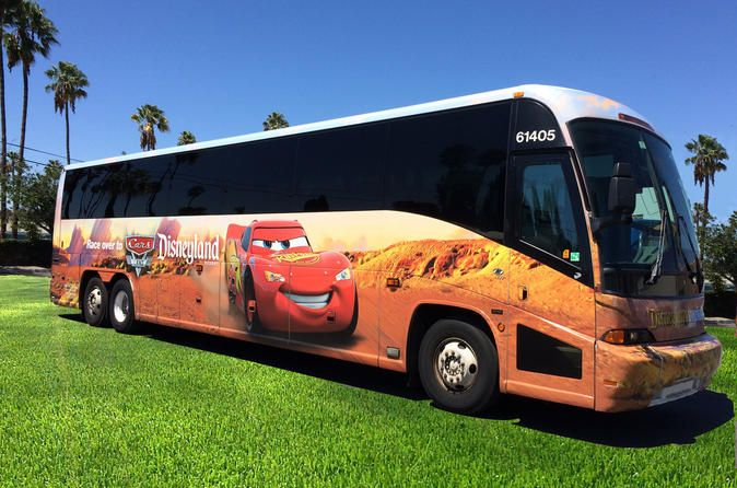 Disneyland Resort Express: Airport Transfers between Los Angeles Airport and Anaheim Resort Area Need a ride to and from the airport on your next trip to the  Disneyland Resort? Save yourself some time and hassle of renting a car,  calling a service or finding a shuttle with the Disneyland Resort  Express transfer from the Los Angeles airport to the Anaheim resort  area.      Start or end your trip to Anaheim without stress and ...