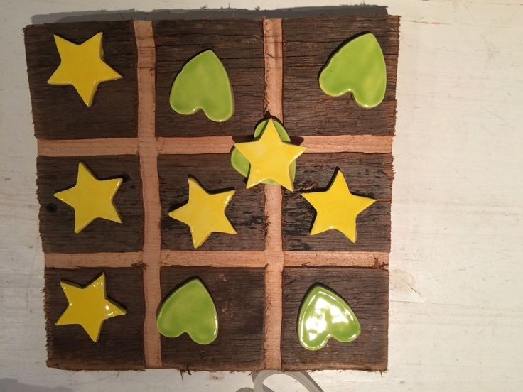 Tic, Tac , toe, made by Rombouts Pottery & Flowers