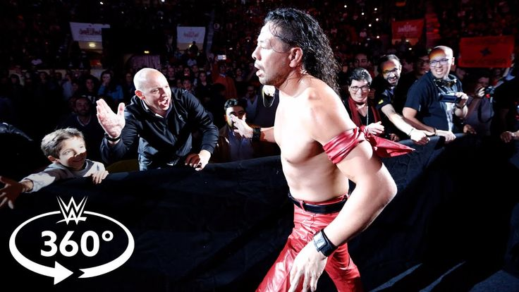 See Shinsuke Nakamura's entrance at WWE Live in Lisbon in 360 degrees  ||  Experience a 360° view as The King of Strong Style makes his way to the ring at WWE's Live Event in Lisbon, Portugal's Campo Pequeno. More ACTION on WWE NETW... https://www.youtube.com/watch?v=K-RpWPGuJ70