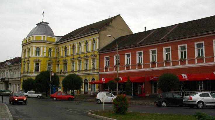 Primăria Sfântu Gheorghe, corp A, (înainte de renovare) strada 1 Decembrie 1918 2, Sfântu Gheorghe