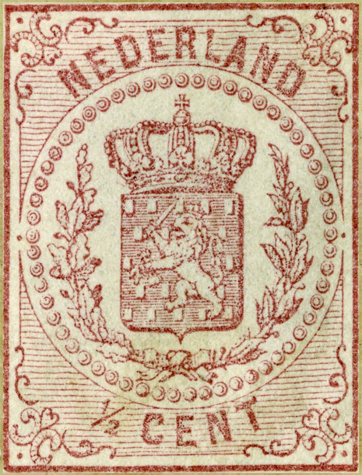 Nederland, stamp from Holland. To use for decoupage?