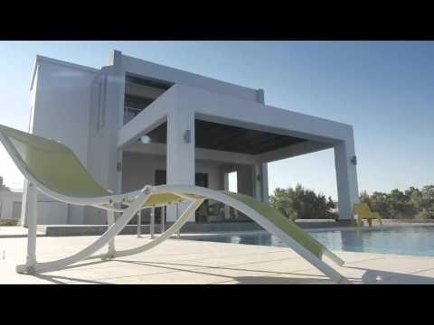 Beach Villa Lachania private pool rhodes greece
