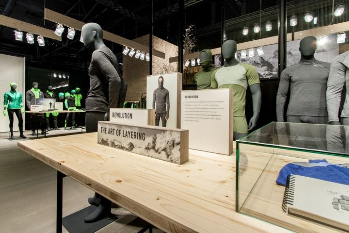 D Printing Exhibition Germany : Odlo trade fair stand at ispo by laborrotwang munich