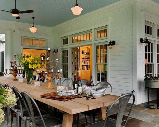 Traditional Porch Farmhouse Craftsman Clean Design, Pictures, Remodel, Decor and Ideas - page 3