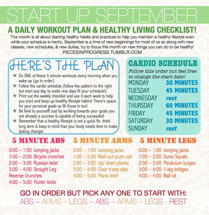 The  Best September Fitness Challenge Ideas On