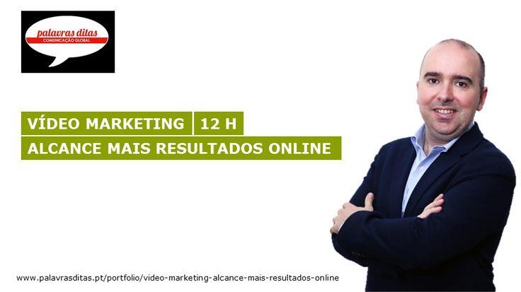 Curso Vídeo Marketing - Palavras Ditas, Lisboa - Vasco Marques. A formação é promovida pelo projeto formativo: Palavras Ditas.