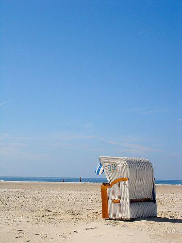 Strandkorb | Amrum | North Frisian Island on the German North Sea coast | machetwas.blogspot.com #Amrum #Nordsee #machetwas.blogspot.com