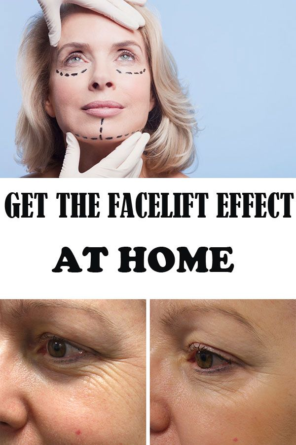 Skip the visits to a beauty salon and obtain the facelift effect, in 3 steps.