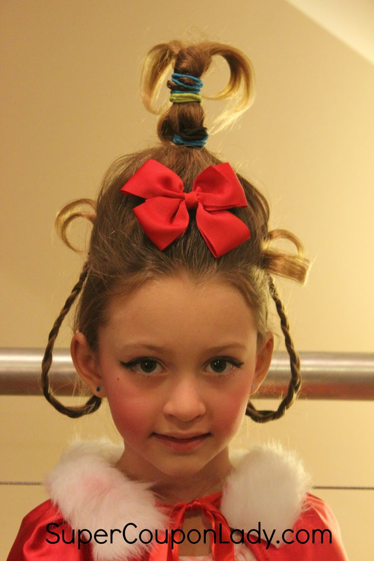 cindy lou who hair tutorial