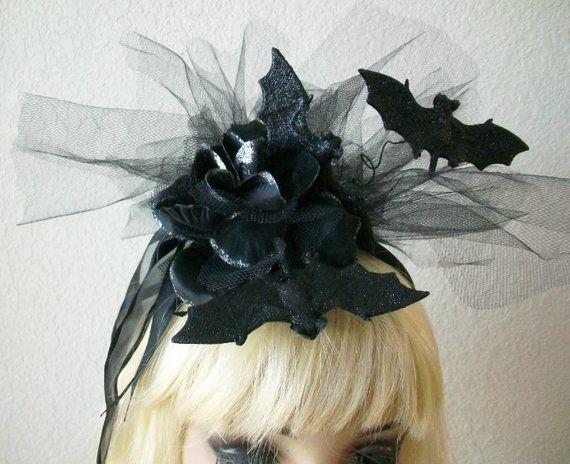 Halloween Gothic Fascinator