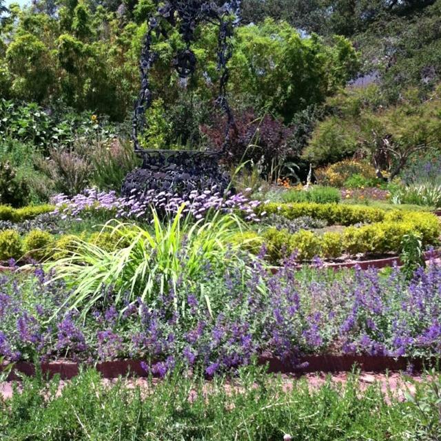 Herb Garden, Huntington Botanic Garden, Pasadena, CA.