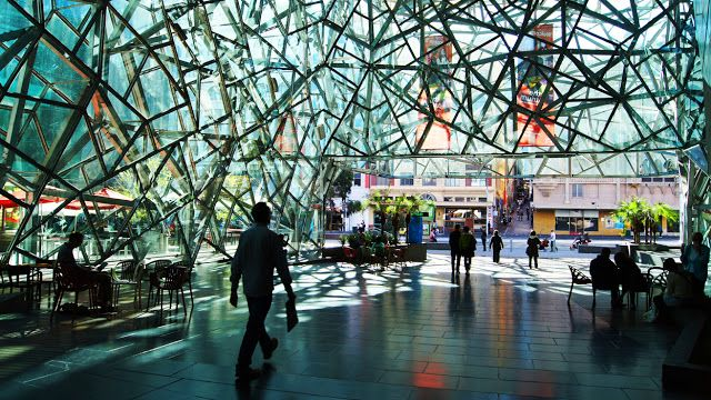 Federation square is globally famous for its alleged for Urban planning firms melbourne