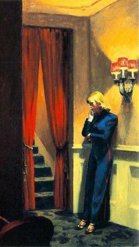 Edward Hopper, New York Movie ( Detail ), 1939   The Art ...
