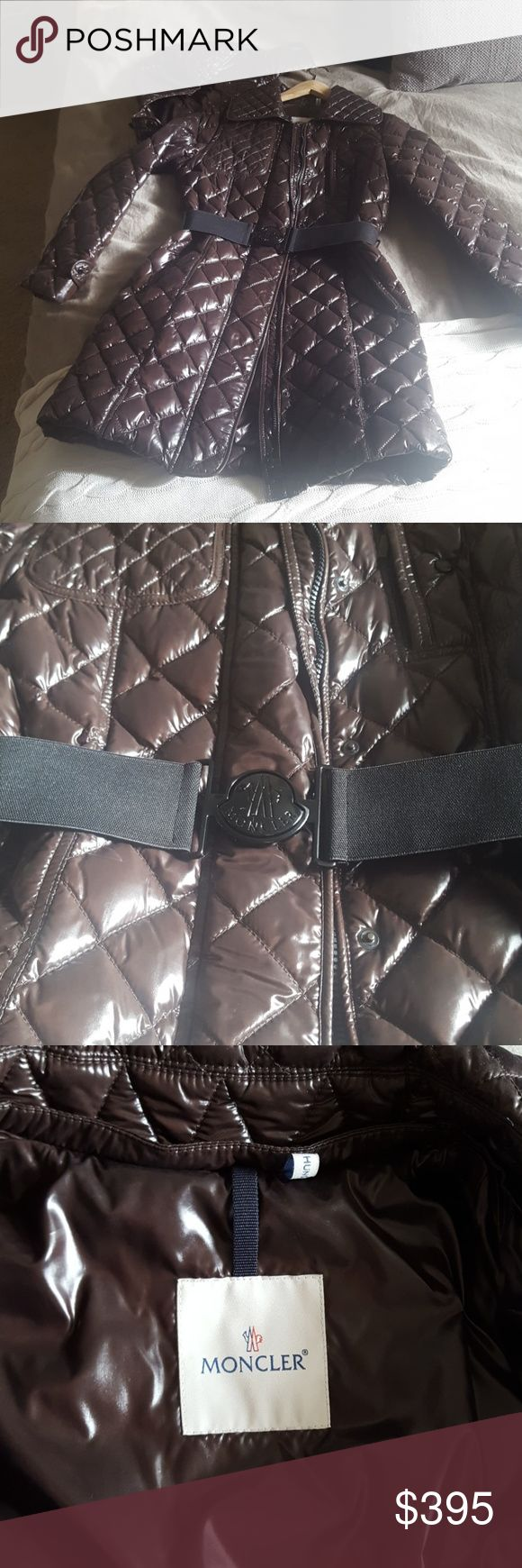Moncler coat Perfect condition size 2 100 Authentic Price