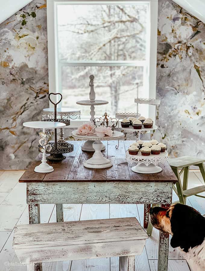 Tier Cake Stand Decorating Ideas Shabby Chic Cake Stand Shower