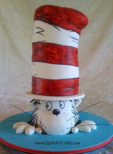 Kids Cakes - Cat in the Hat by smartrsocial,  Go To www.likegossip.com to get more Gossip News!