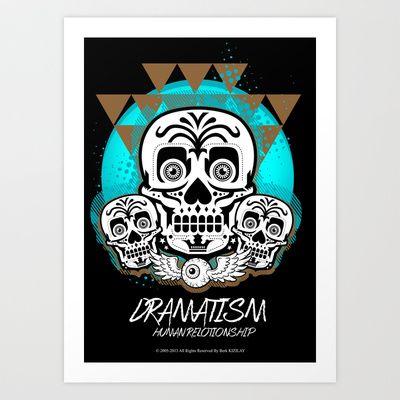 Dramatism Art Print by BerkKIZILAY - $18.00