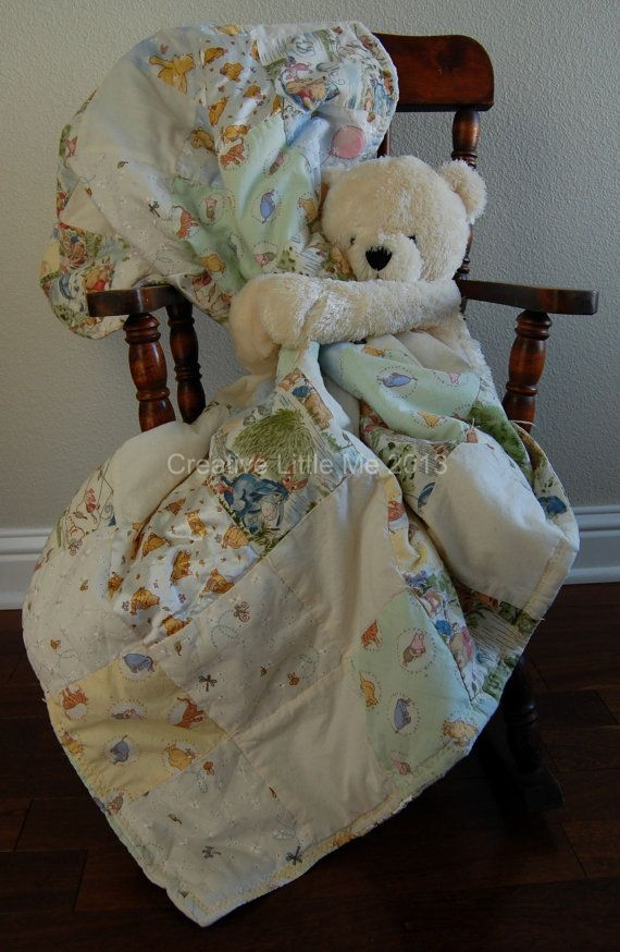 1000 Images About Winnie The Pooh Quilts On Pinterest