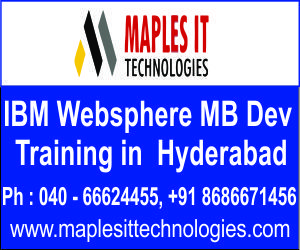 Maples IT Techologies offers ibm WebSphere course training in Hyderabad with real time experts.We also offer online Training in WebSphere Course. ibm Websphere course training offered .