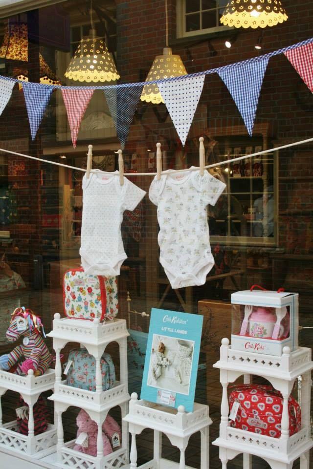 Cath Kidston (Cath Kids) and Baby Window Display 2013 | La Maison
