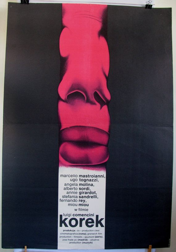 Italian 1978s film  L'ingorgo  Traffic Jam USA by artwardrobe, $39.00