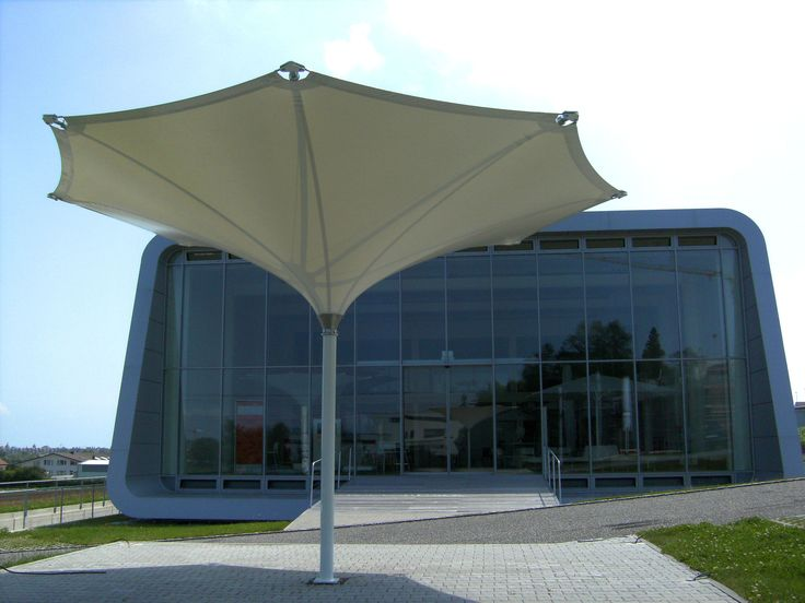 More beautiful tulip umbrellas!  Street art, architecture, shading solution - it's anything you want it to be!