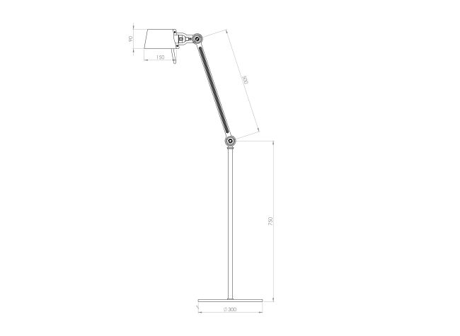 Bolt Floor Lamp Single Arm Collection Tonone Webshop In 2020 Lamp Floor Lamp Home Decor