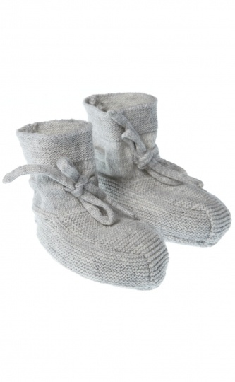 Knitted Booties - Purebaby