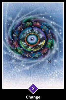 Cartas do Destino: Osho Zen Tarot - 10. Arcano Maior ― Mudança