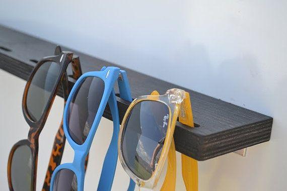 Spec: Modern Sunglass Organizer / Holder on Etsy, $25.00