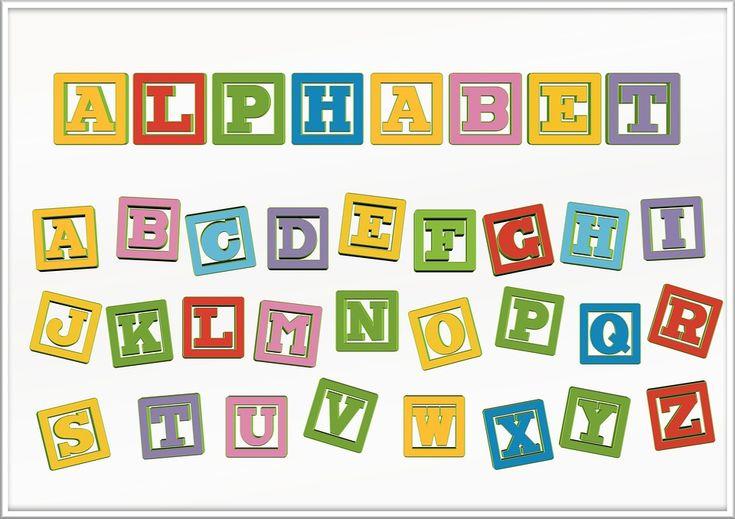 Foto gratis: Letras, Abc, Educación - Imagen gratis en Pixabay - 565098