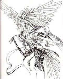 angel coloring pages for adults bing images