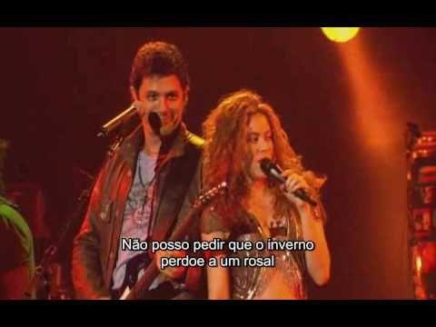 with hip? La Tortura-Shakira feat.  Alejandro Sanz Oral Fixation Tour #decorazon