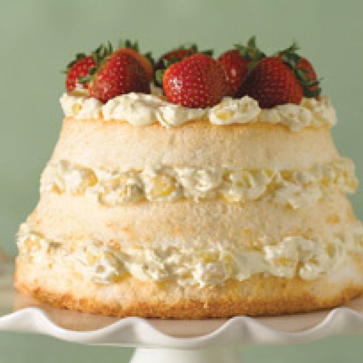 39 best angel food cake n pineapple images on pinterest angel pineapple cream angel food cake forumfinder Gallery