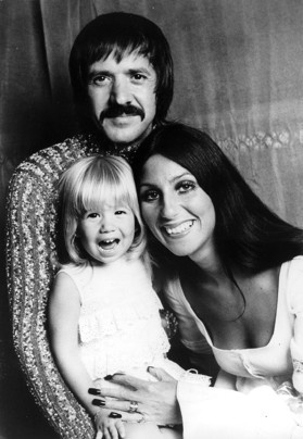 Sonny and Cher, with Chastity Bono