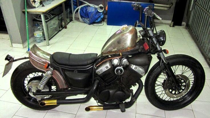 virago 535 custom bobber mi moto pinterest bobbers. Black Bedroom Furniture Sets. Home Design Ideas
