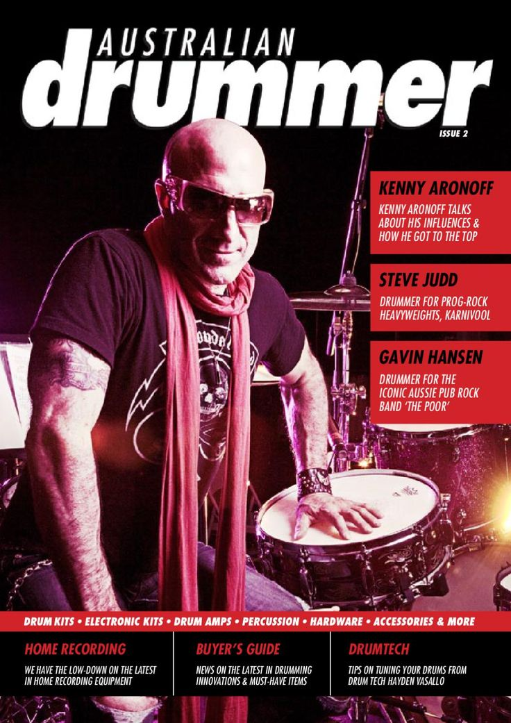 Australian Drummer Issue 2  All the latest news in the world Drumming. An online magazine published by Australian Drummers, for Australian Drummers!