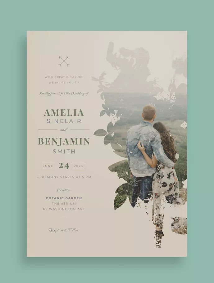Wedding Invitation V02 By Moodboy On Envato Elements Wedding Invitations Wedding Invitation Templates Business Cards And Flyers