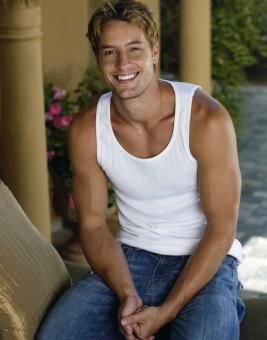 Justin Hartley - loved him playing Green Arrow in Smallville